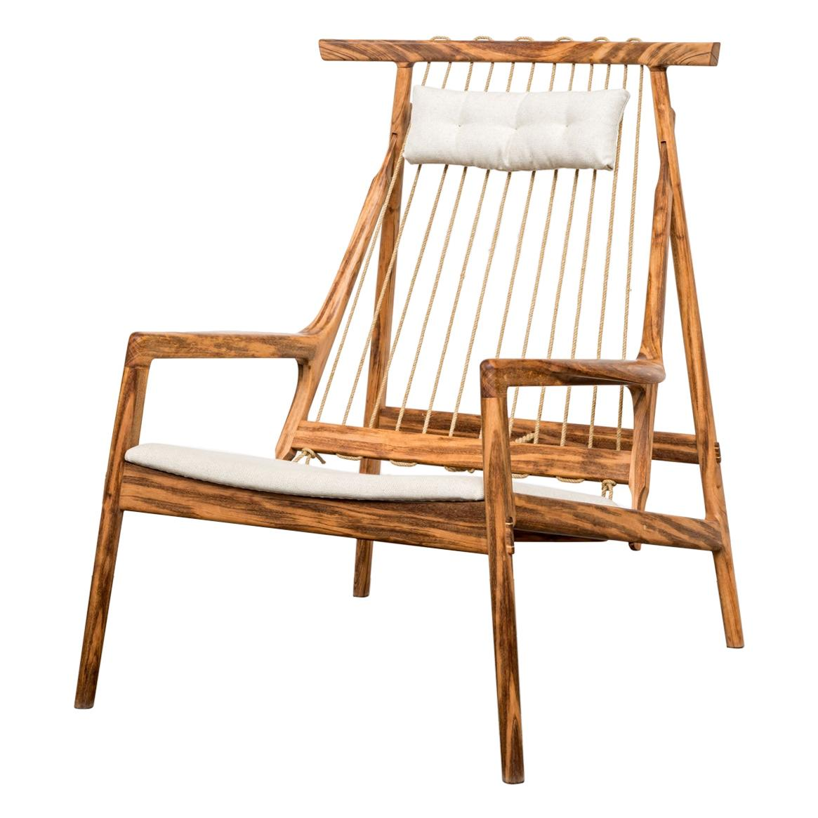 Contemporary Armchair in Brazilian Hardwood by Ricardo Graham Ferreira