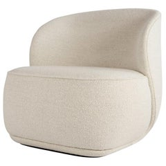 Contemporary Armchair 'La Pipe Lounge' with Standard Fabric