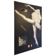 Contemporary Art Joseph Piccillo Single Ballerina #9, 1997 extra large