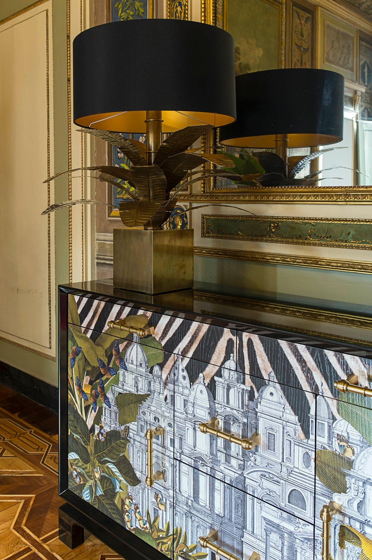 Italian Contemporary Art Credenza In New Condition For Sale In Scandicci, Florence