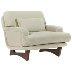 Contemporary/Art Deco Inspired Armchair Offered in COM