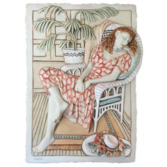 "Contemporary Art Emily Kaufman ""Untitled Ceramic Sculpture 1985 44"""