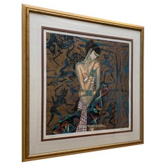 Contemporary Art Large Framed Print Ting Shao Kuang AP