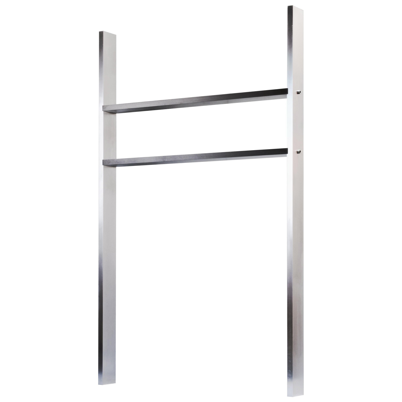 Contemporary AS01 Shelf in Waxed Aluminum