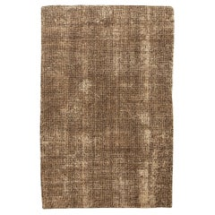 Contemporary Asbury Cocoa Hand Knotted Wool Rug