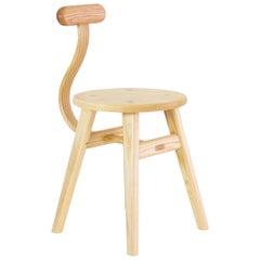 Contemporary Ash Yin Yang Chair by SinCa Design