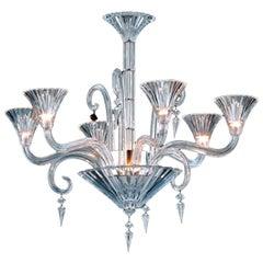 Contemporary Baccarat Mille Nuit Chandelier Pendant 6L Crystal