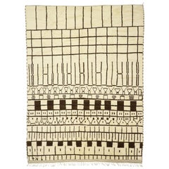 New Contemporary Berber Moroccan Rug with Modern Cubist Style