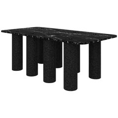 Contemporary Black Concrete Coffee Table, 8 by Oliver Whyte