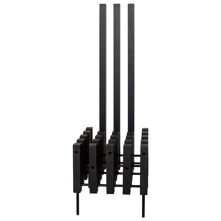 Contemporary Black Sculpture Chair Matrix by Studio 1+11, 21st Century, Germany For Sale