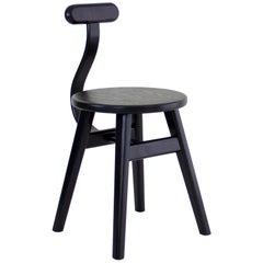 Contemporary Black Yin Yang Chair by SinCa Design