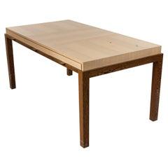 Contemporary Blonde Wood Desk