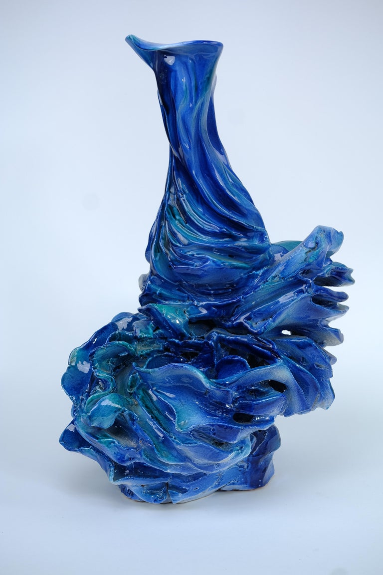 Expressionist Contemporary nature-inspired Sculpture by Italian artist For Sale