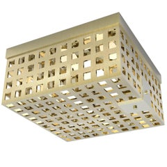 Contemporary Brass 002 Flush Mount by Orphan Work, 2018