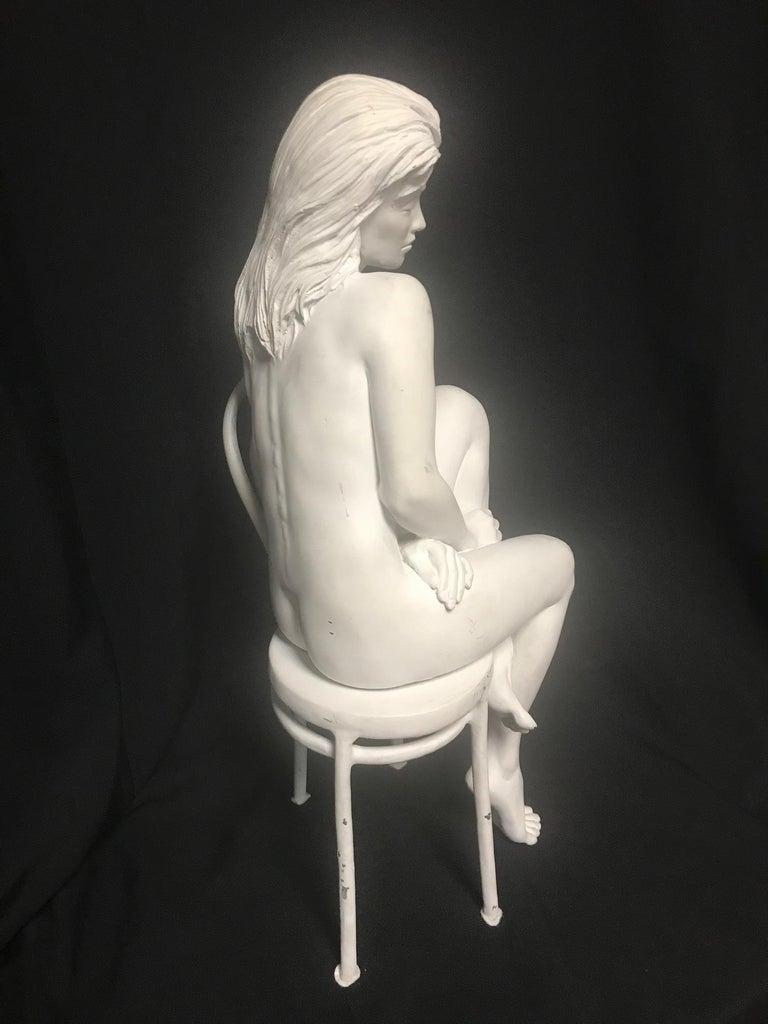 American Contemporary Bronze of Nude, 'Solitude', Bill Mack For Sale