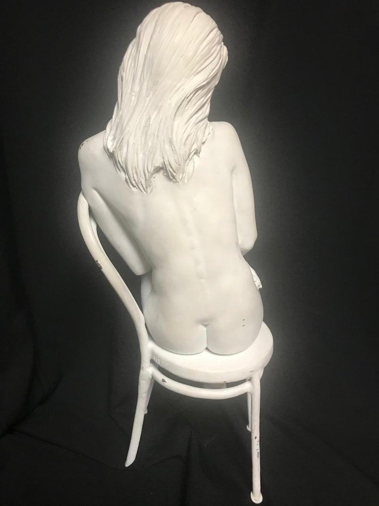20th Century Contemporary Bronze of Nude, 'Solitude', Bill Mack For Sale