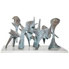 Contemporary Bronze Sculpture by BJ Las Ponas
