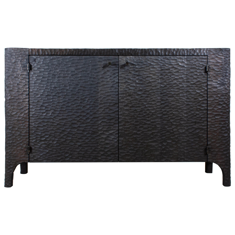 Contemporary Brutalist Dresser in Solid Oak 'Custom Size'