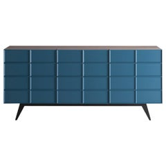 Contemporary by Franca Lucarelli e Bruna Rapisarda Sideboard Wood Steel