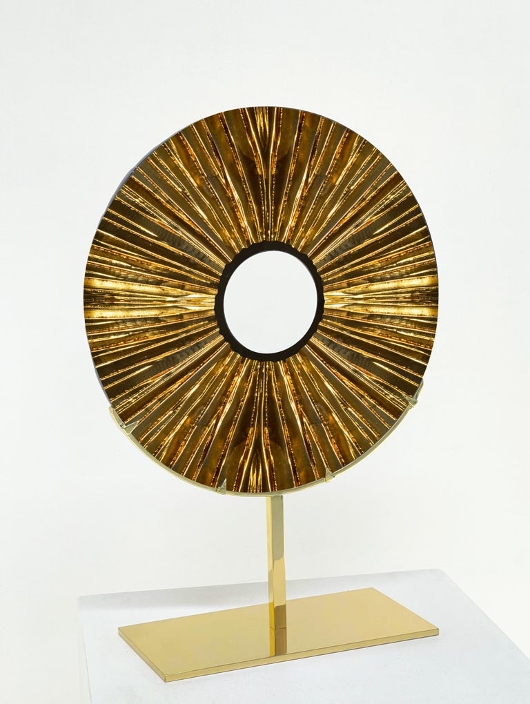2021 Colletion of decorative objects by Ghirò Studio (Italy,Milan). The 'Eye' is not only a luxury refined piece of furniture but it is also a hand carved sculpture designed to embellish with uniqueness, beauty and charming any living area or