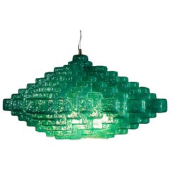 Contemporary by Las Animas Calitra Enlighted Sculpture Resin Green