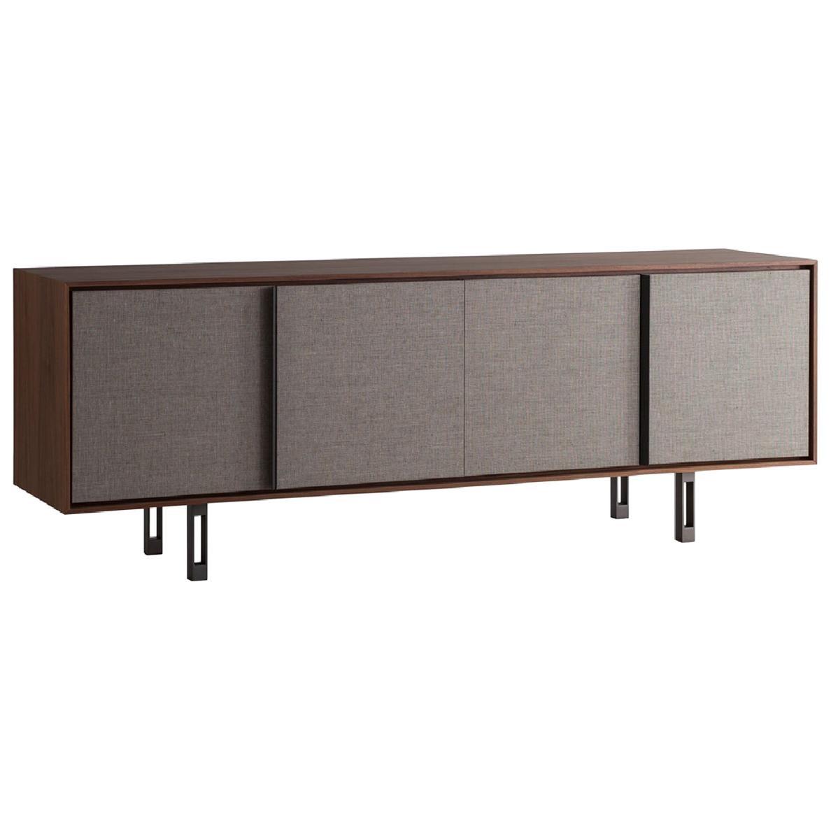 Contemporary by Lucarelli e Rapisarda  Sideboard Wood Veneer Steel