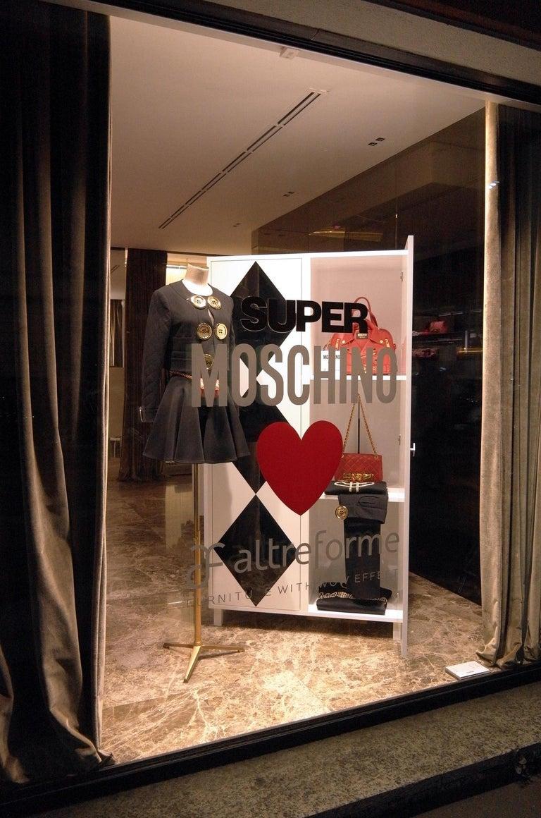 Modern Contemporary Camicia Cabinet in Aluminium by Altreforme For Sale