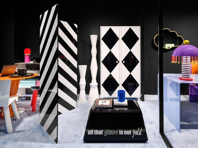 Italian Contemporary Camicia Cabinet in Aluminium by Altreforme For Sale