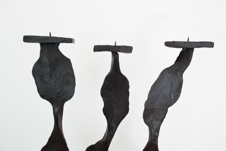 Contemporary Candleholder Inspired by A. Giacometti In New Condition For Sale In London, GB