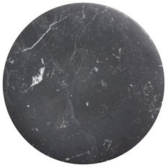 Contemporary Carnico Black Marble Tray