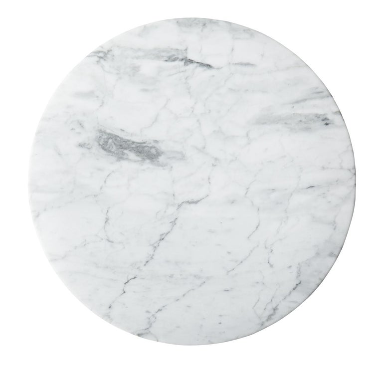 Contemporary Carrara Marble Tray For Sale