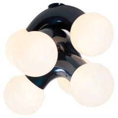 Contemporary Ceiling Lamp VINE 3-C, Blue