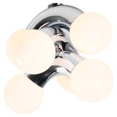 Contemporary Ceiling Lamp VINE 3-C, Chrome