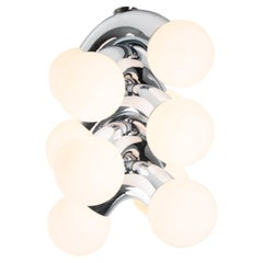Contemporary Ceiling Lamp VINE 5-C, Chrome