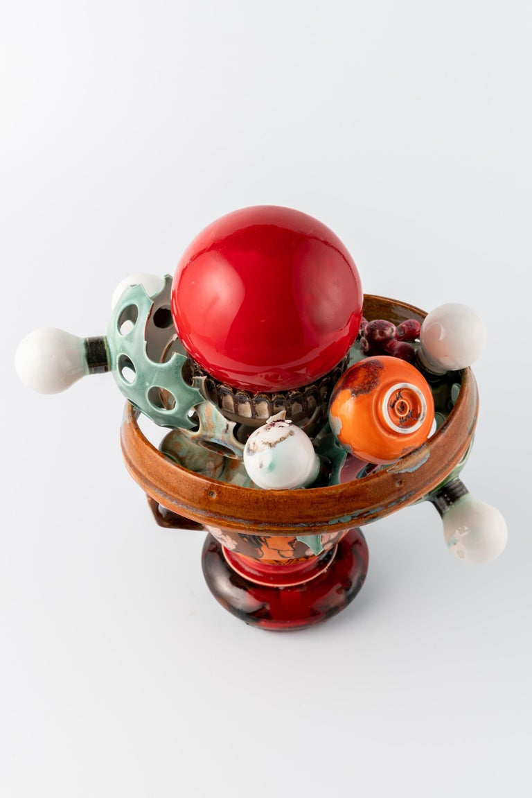 Extraordinary Ceramic Sculpture by Israel Sofia For Sale 3