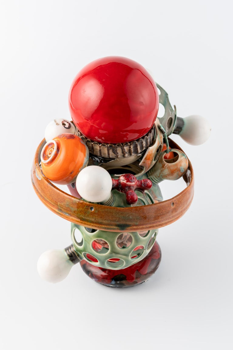 Extraordinary Ceramic Sculpture by Israel Sofia For Sale 1