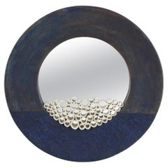 Contemporary Ceramic Sculpture, Grand Anneau Bleu
