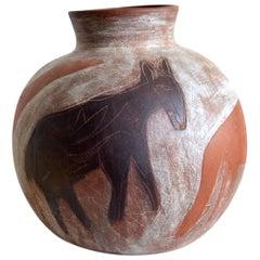 Contemporary Ceramist Artist Marcela Calderon High Temperature Ceramic Cantaro