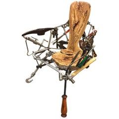"""Contemporary Chair """"Ferramenta"""" 'Tool' by Brazilian Designer Leo Capote"""
