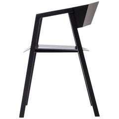 Contemporary Chair 'K' Made of Aluminum 'Black or White'