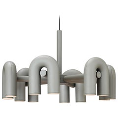 Contemporary Chandelier 'Cirkus' by AGO 'Large - Grey'