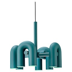 Contemporary Chandelier 'Cirkus' by AGO 'Small - Green'