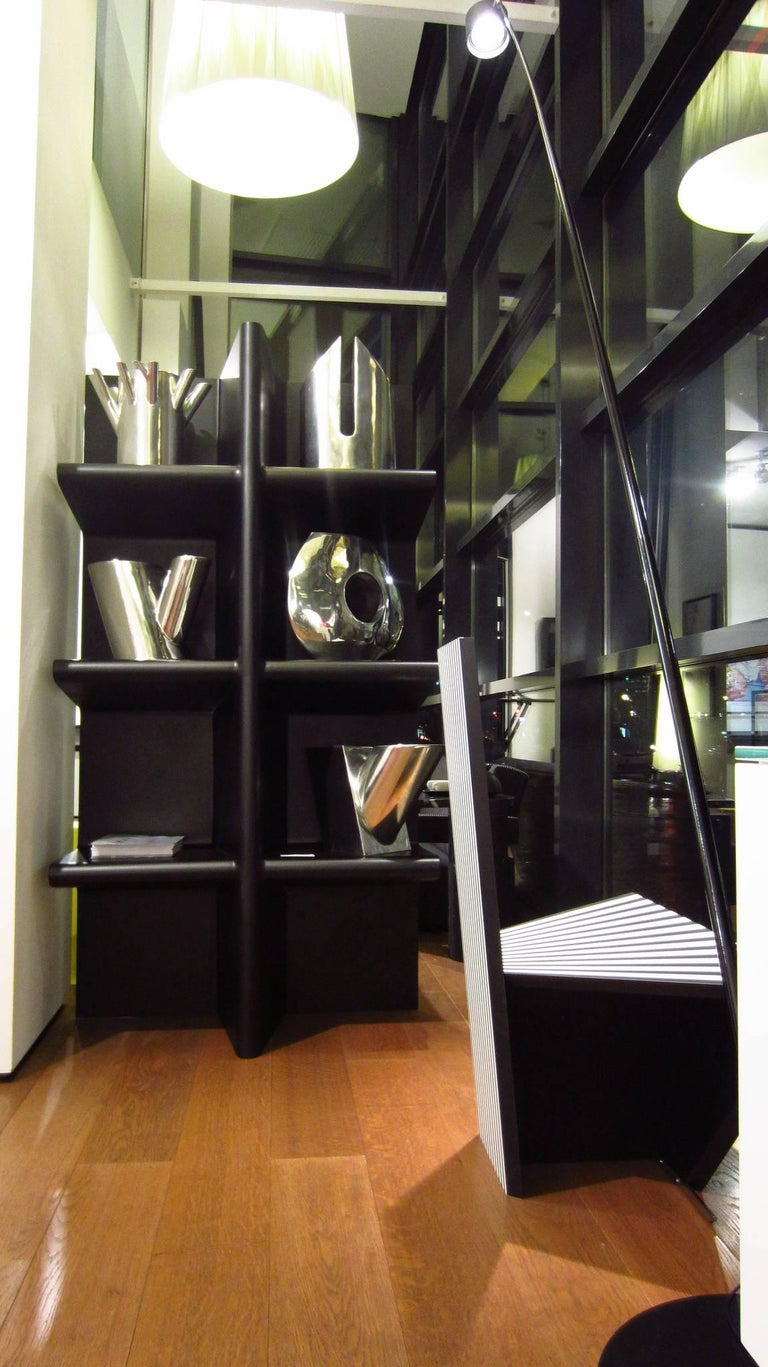 Contemporary Cioccolata Bookshelf in Aluminium by Altreforme For Sale 1