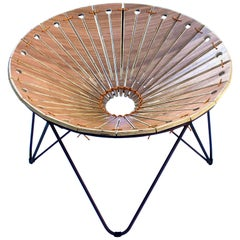 "Contemporary Circular Chair, ""Ruptura"" Armchair"