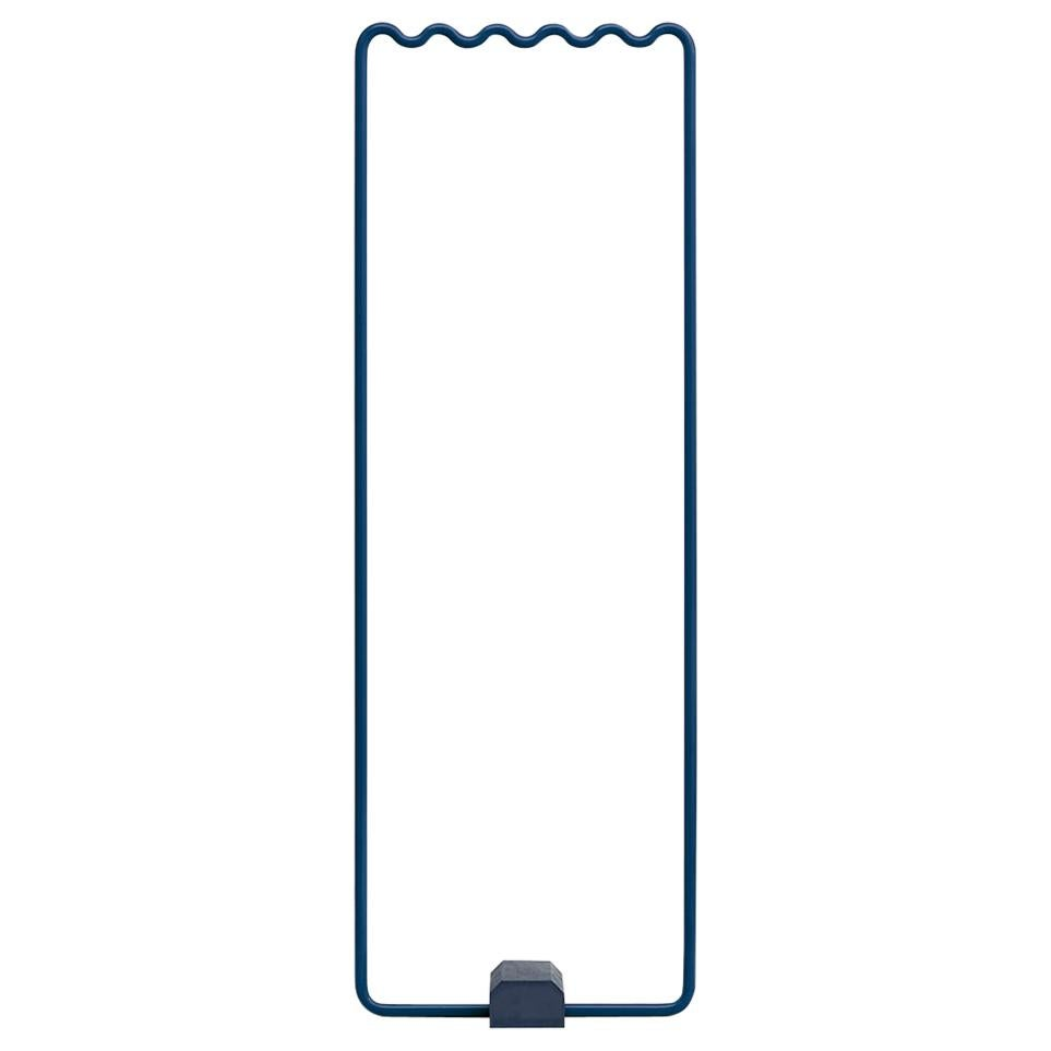Contemporary Coat/Clothes Rack Small in Blue by Erik Olovsson