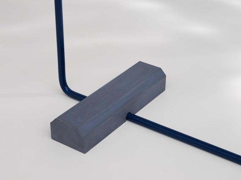 Post-Modern Contemporary Coat Rack Medium in Blue by Erik Olovsson For Sale