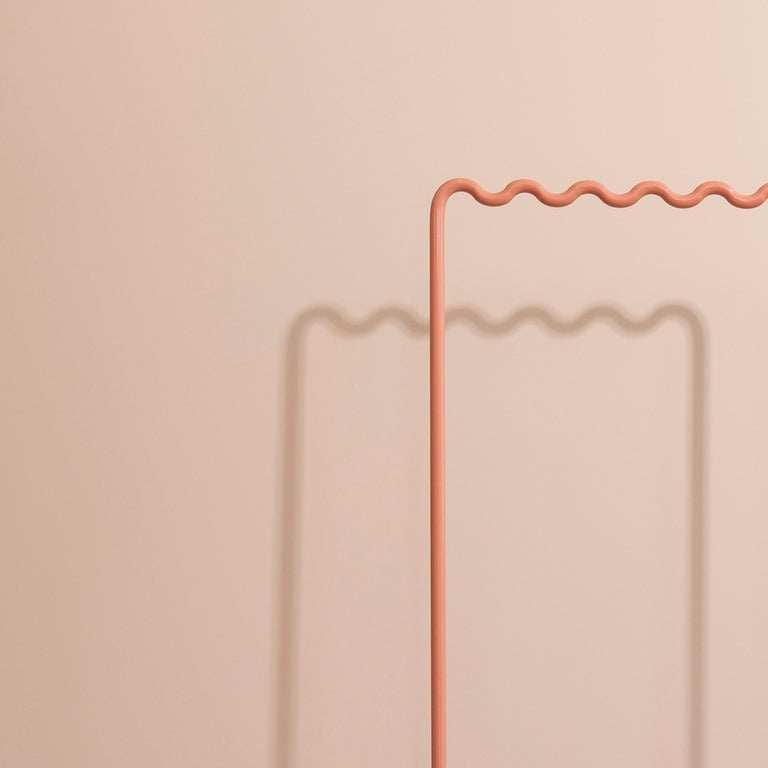 Contemporary Coat Rack Medium in Pink/peach by Erik Olovsson In New Condition For Sale In Stockholm, SE