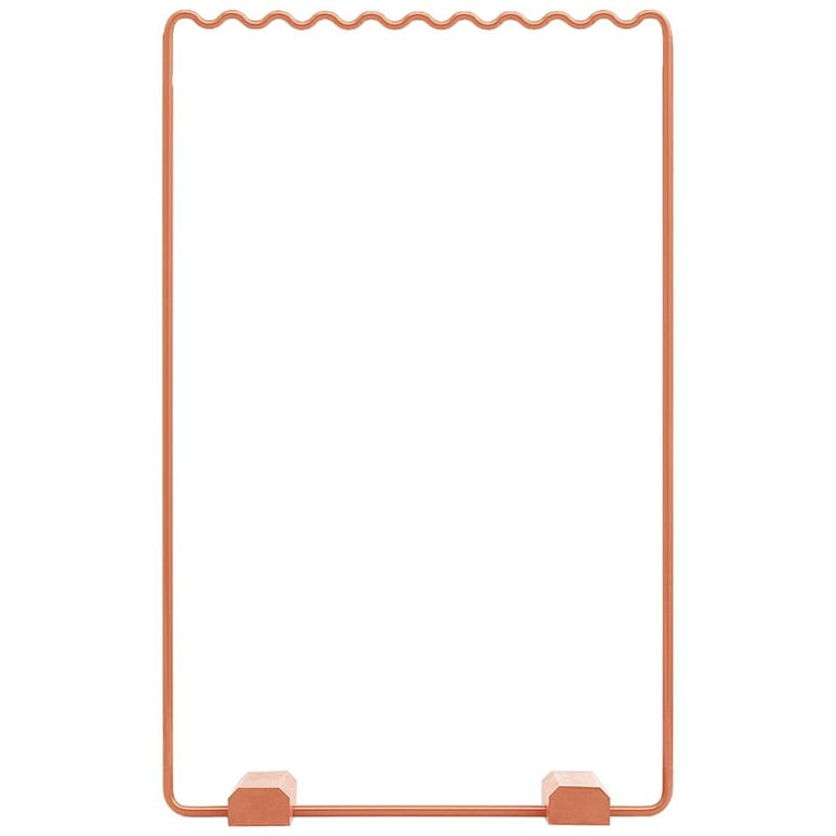 Contemporary Coat Rack Medium in Pink/peach by Erik Olovsson For Sale