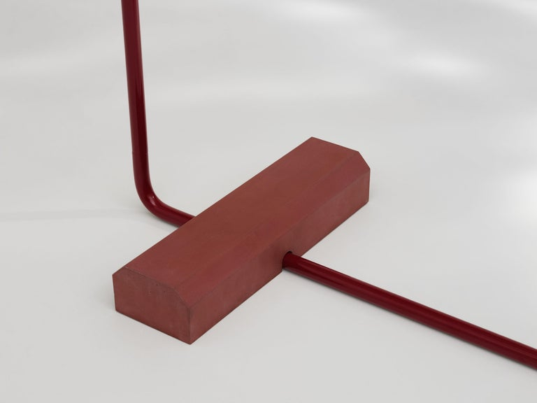 Cast Contemporary Coat Rack Medium in Red by Erik Olovsson For Sale