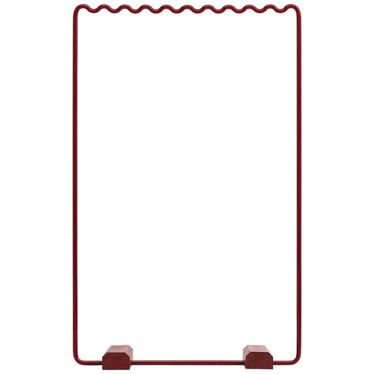 Contemporary Coat Rack Medium in Red by Erik Olovsson For Sale